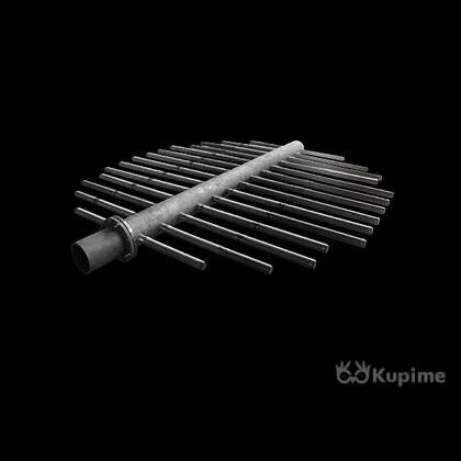 Устройства дренажные НРУ, ВРУ, ДРУ щелевые, щелёванные трубы-лучи